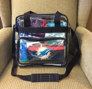 NFL clear bag