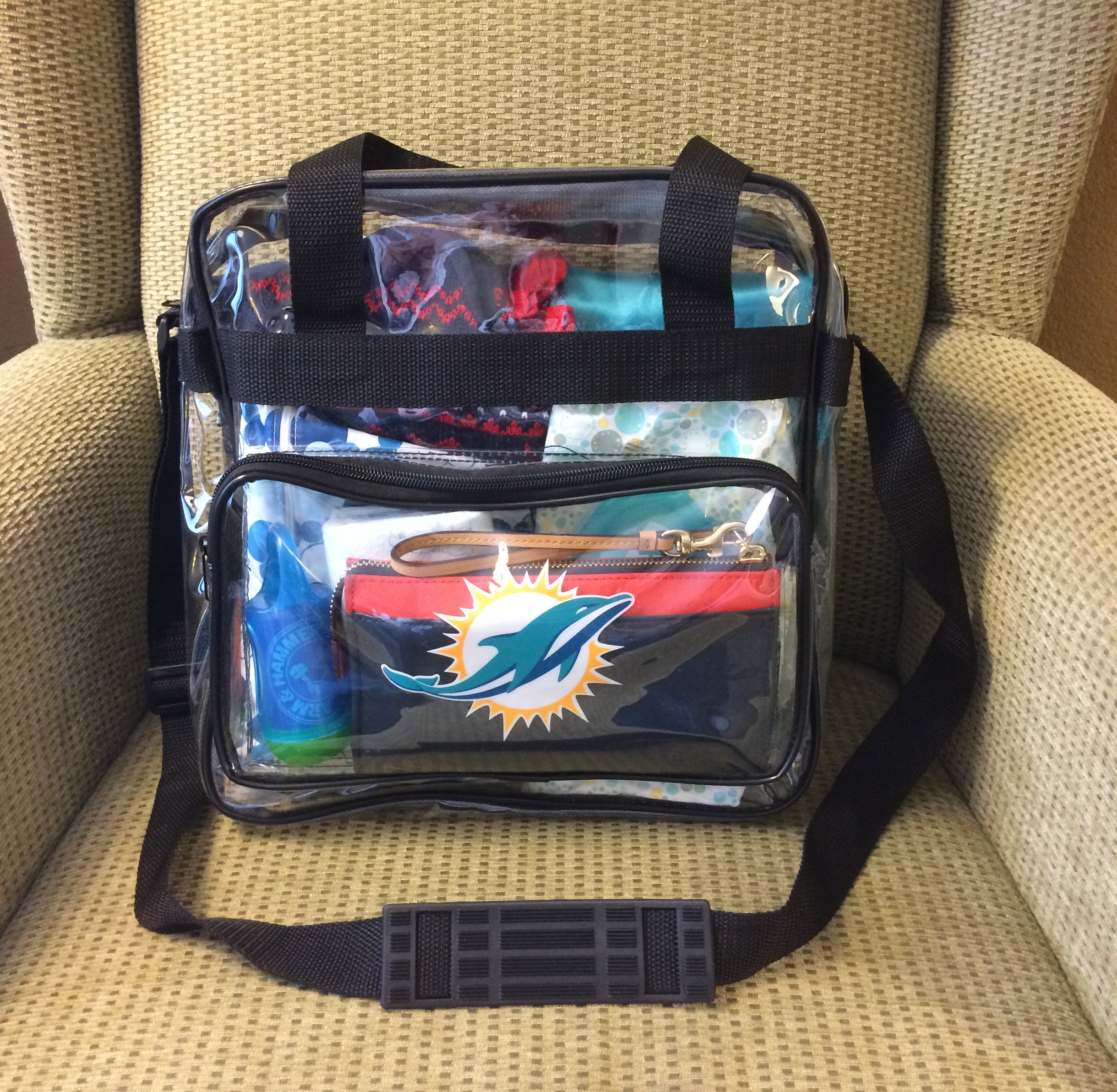 Nfl Clear Bag